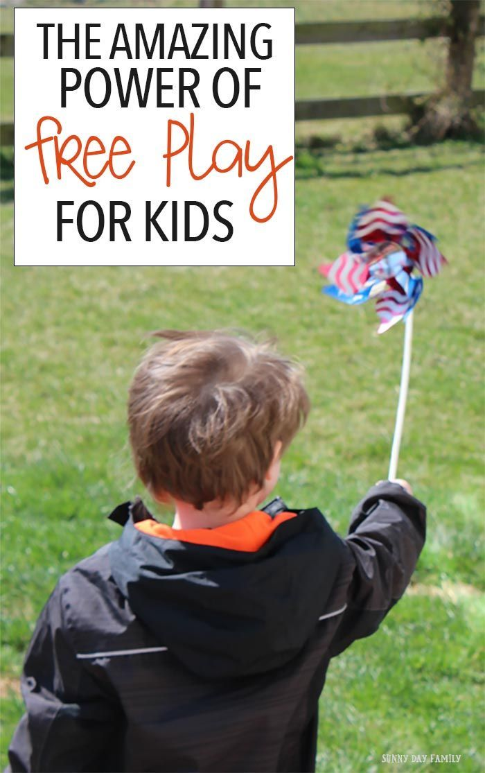 See the amazing benefits free play can give your kids! Let them explore and read about how play can help your child with social, learning, and teamwork skills. (sponsored)
