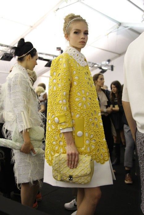 vuitton backstage