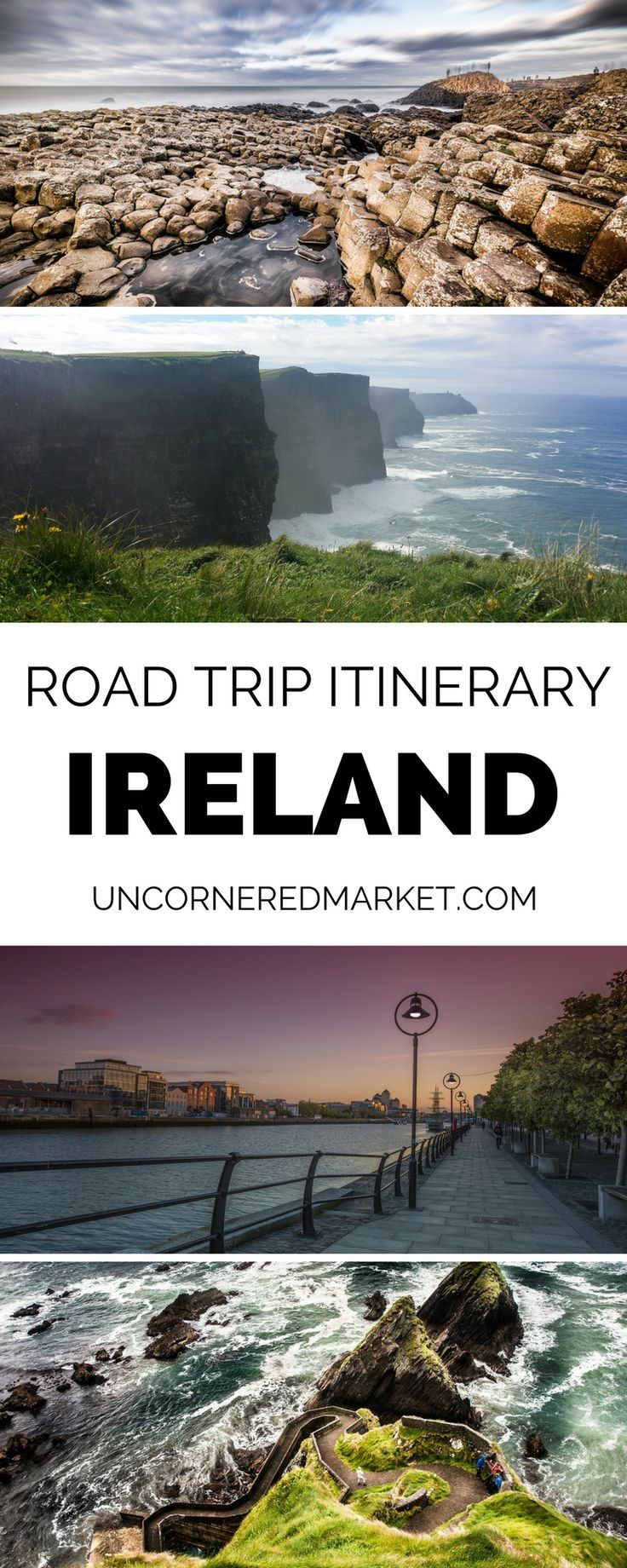 The ultimate road trip guide to Ireland. A day-by-day itinerary with recommendations on best things to do and see, where to stay, and what to eat along the way. | Uncornered Market Travel Blog: Travel Wide, Live Deep