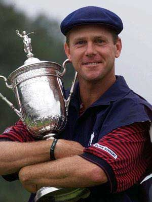 Payne Stewart. Sorely missed by golfers everywhere. He was a great guy. RIP Payne.