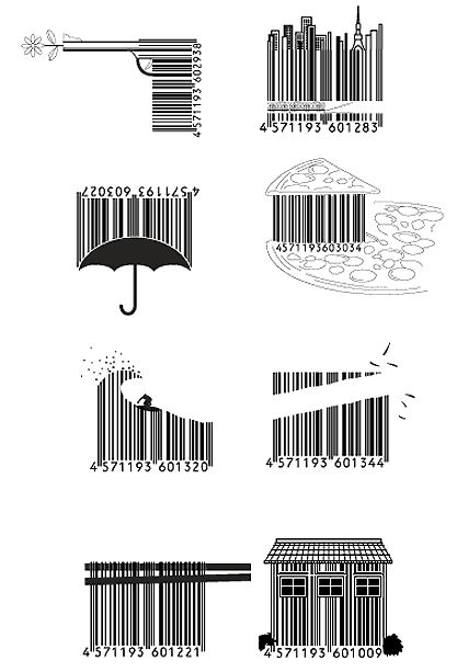 ♥♥♥ Japanese Barcode Art