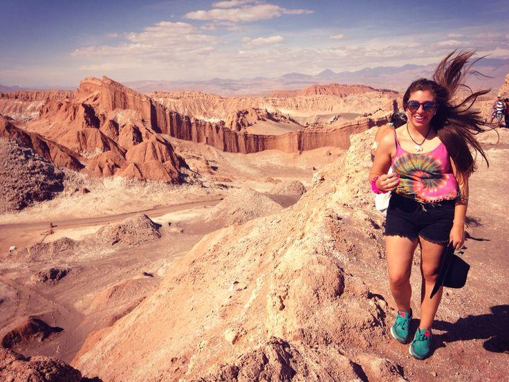 Moon Valley, Valle de la Luna, famale travel, trip, trekking, San Pedro de Atacama