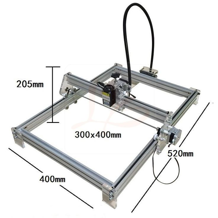 10W 10000MW diy metal laser engraving machine 30*40cm  up & down laser focus function included #Affiliate