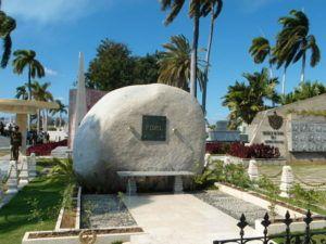 Fidel's tomb - Santiago www.anaussieinitaly.com