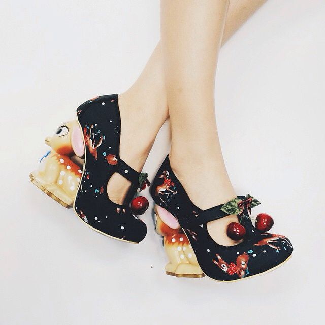 SHOES | Irregular Choice Fawn Heels |