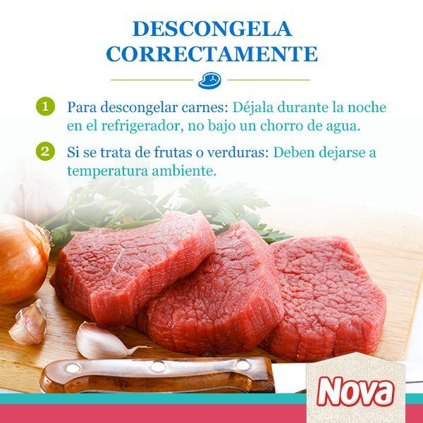 #NovaTruco Para que tus carnes queden deliciosamente preparadas, debes tomar en cuenta este consejo. ¡Pin it si te gustó!