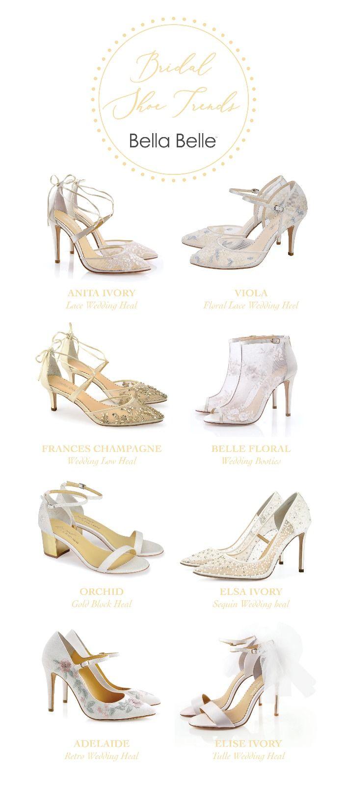 2019 Best Shoe Trend Bridal Shoes Pretty Heels Shoes