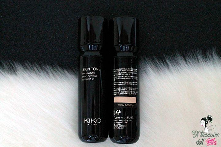 Kiko Milano Skin Tone Foundation - 39 Tonalità tra cui scegliere | Il Taccuino dell'Elfa