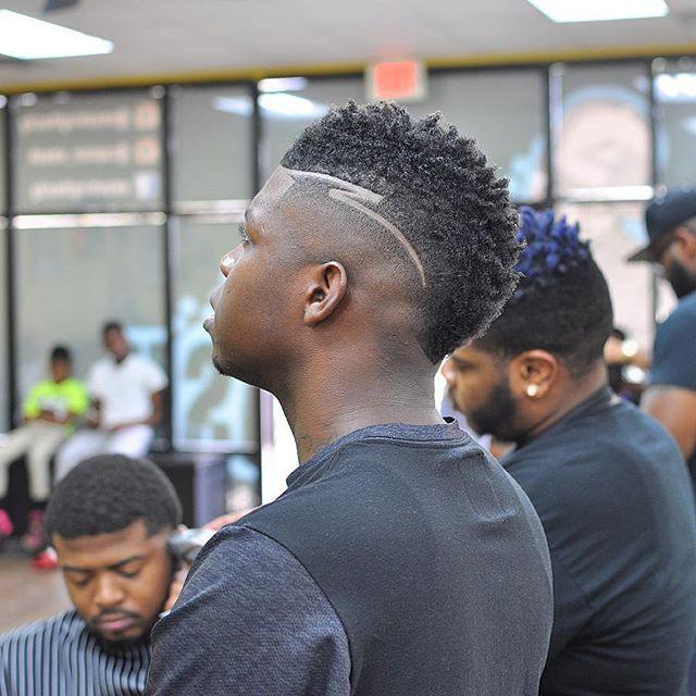 dope haircut design