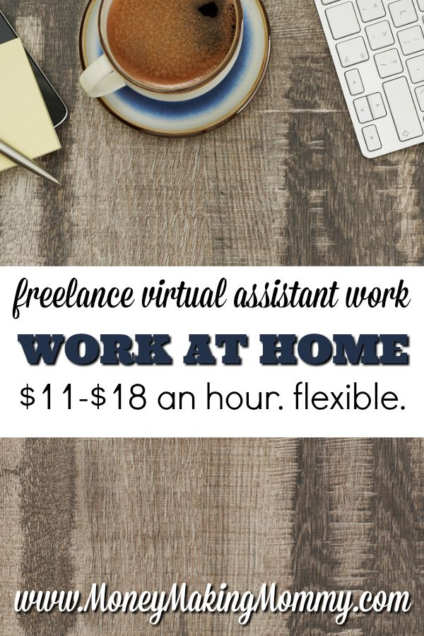 If you're looking for freelance work that's flexible and like the ideas of being a virtual assistant - this might work out perfectly for you. Get all the details and how to apply. MoneyMakingMommy.com