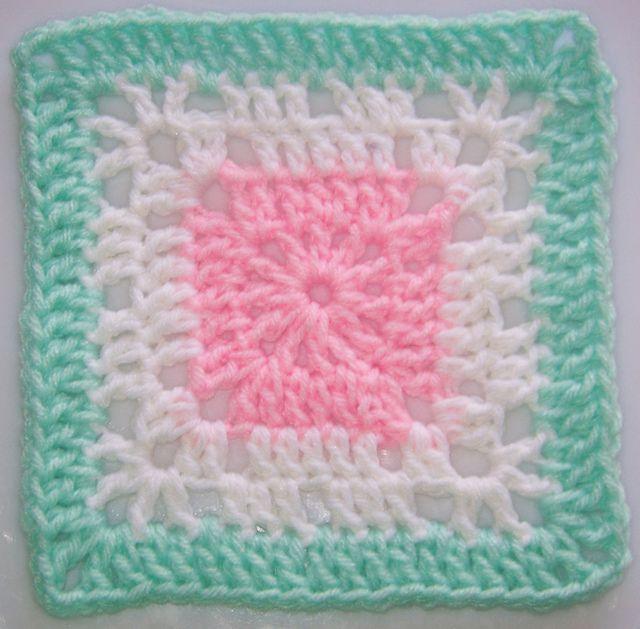 6x6 Ravelry: Free SmoothFox's Granny Loves A Baby pattern by Donna Mason-Svara