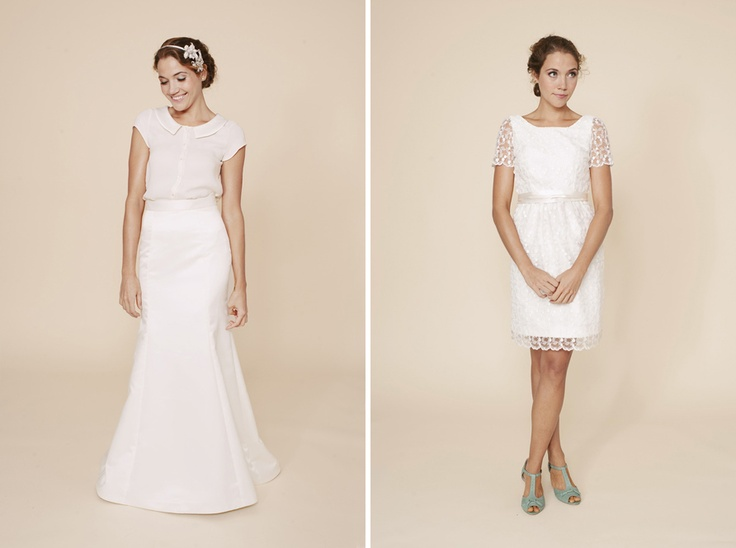 Cute Alternative To The Typical Wedding Gown Perfect For A Outdoor Garden Or Vintages Traditional