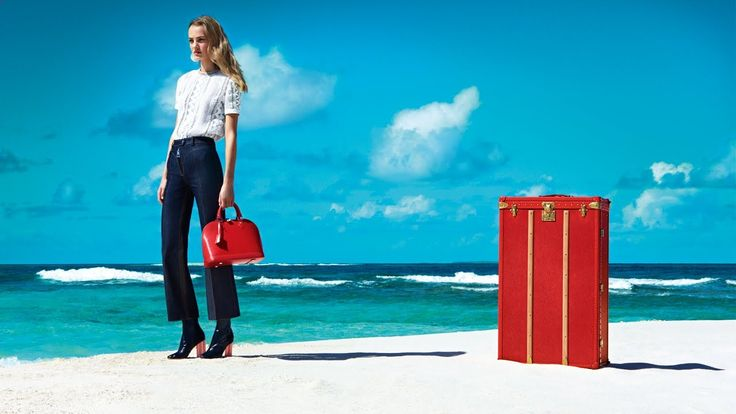 Louis Vuitton Presents The Spirit of Travel -Photographed on the island of St. Barths in the French West Indies