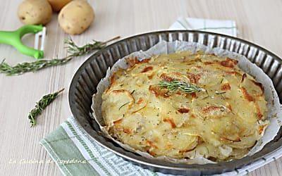 Tortino di patate - Una semplice e sfiziosa idea per il pranzo o la cena