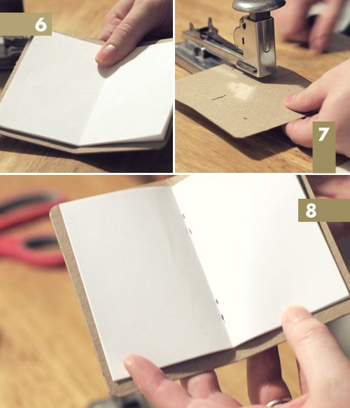 DIY: mini journals