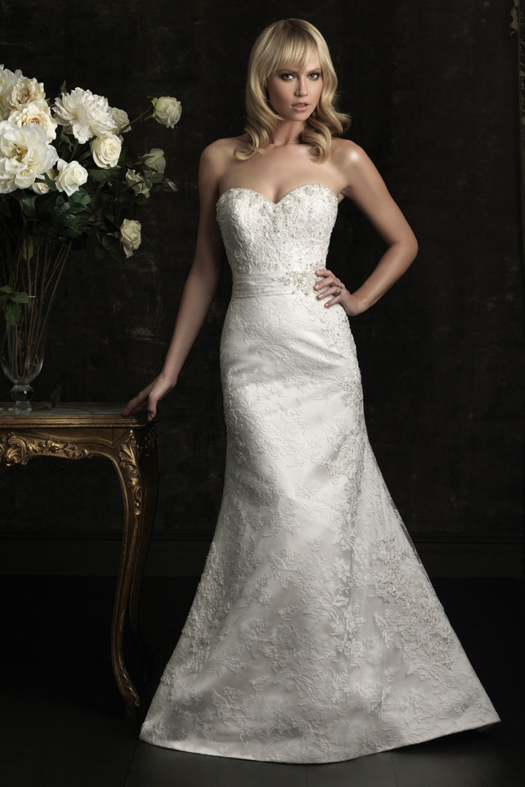.: Wedding Dressses, Style, Wedding Dresses, Weddings, Wedding Gowns, Lace Applies, Allure 8951