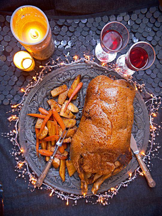 El chef Eric Chavot te recomienda preparar este ganso rostizado glaseado, compartiéndonos la receta.