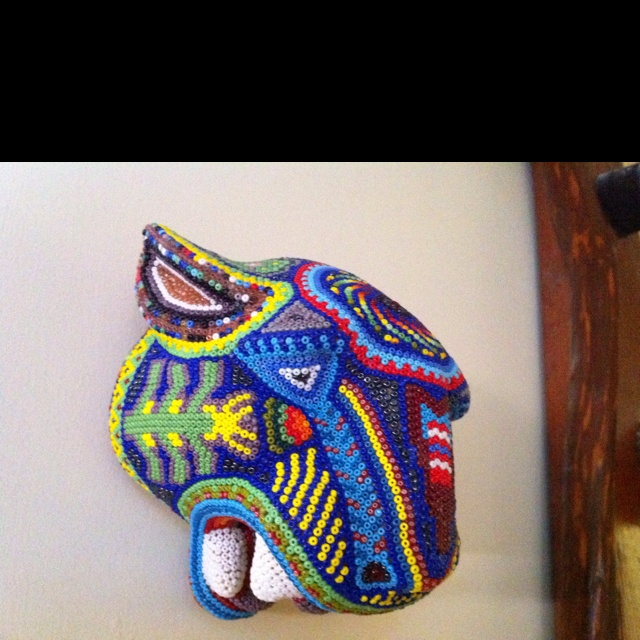 Art Huichol - Jaguar