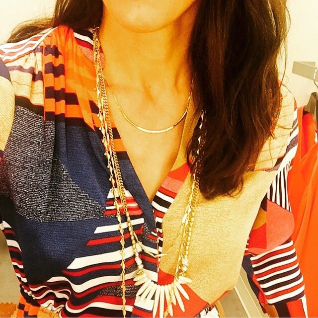 Sneak peek alarm! Jessica Herrin couldn't resist showing you her new favourite summer piece! #stelladotstyle