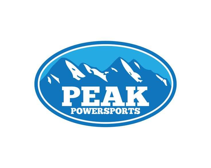 Logo Design | Peak Powersports | 727 Creative Group