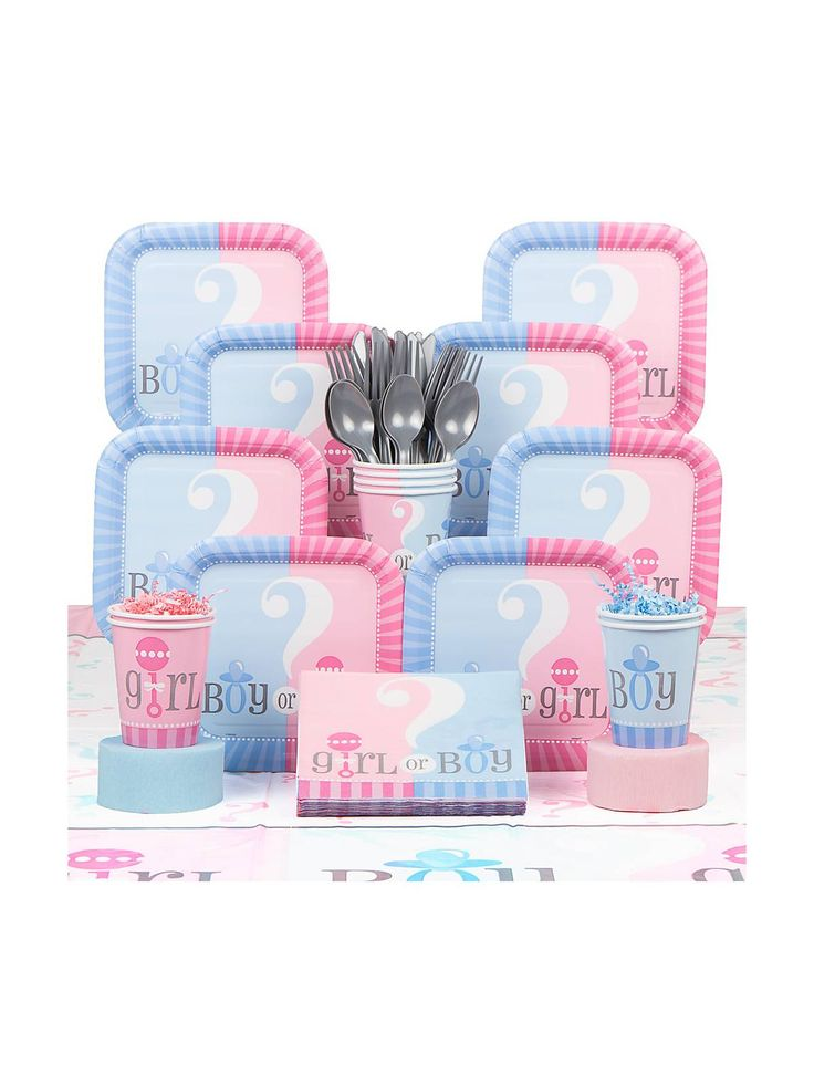 top  best gender reveal party supplies ideas on   joy, Baby shower invitation