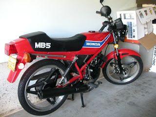1982 Honda MB5.