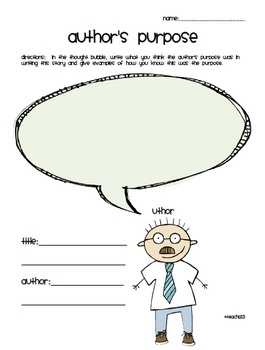 6 reading comprehension printables which include the