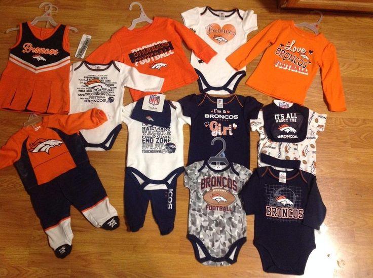 NFL Licensed Infants/Kids Denver Broncos Apparel **Various Sizes**