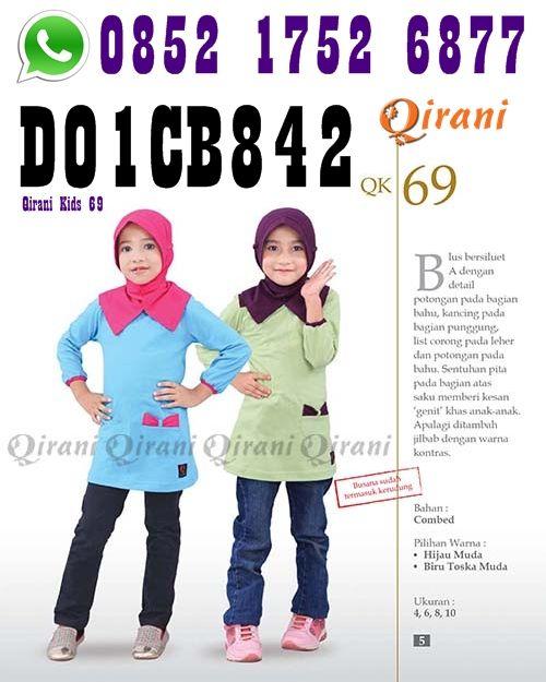 Model Kaos terbaru Qirani Kids 69  SMS/Telp: 0852 1752 6877 Whatsapp: +6285217526877 BBM: D01CB842
