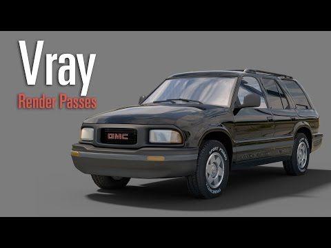 Vray Render Passes Tutorial - YouTube
