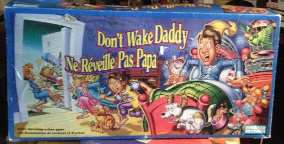 Vintage c. 1992 Don't Wake Daddy board game by by BuyfromGroovy
