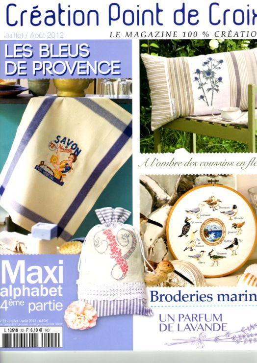 Creation de Point de Croix Magazin No. 22 - Jul./Aug. 2012