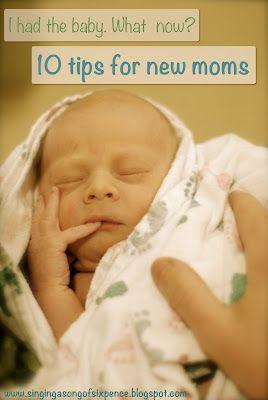 Advice to new moms.