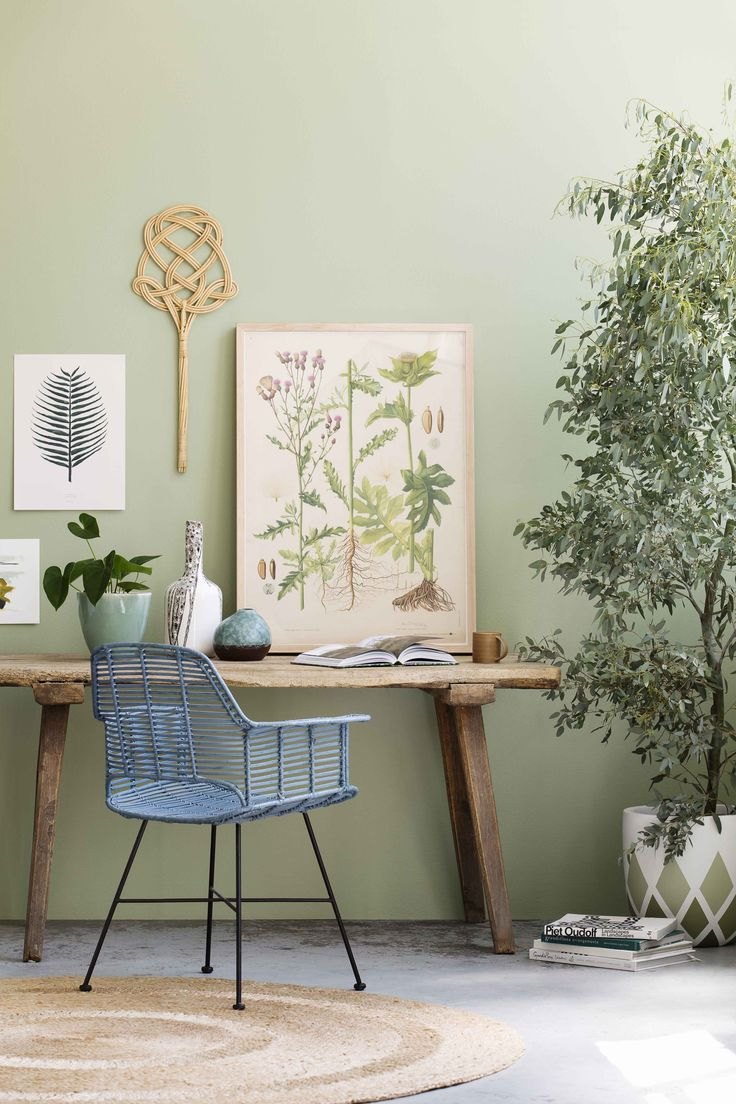 Our spaces need to encourage optimum productivity and positivity as we deal with a range of tasks from work and home life. Colours featured: Leek Leaf, Refuge 2, Yellow Gras, Moon & Stars, Haze, Wood Grey, Refuge 1