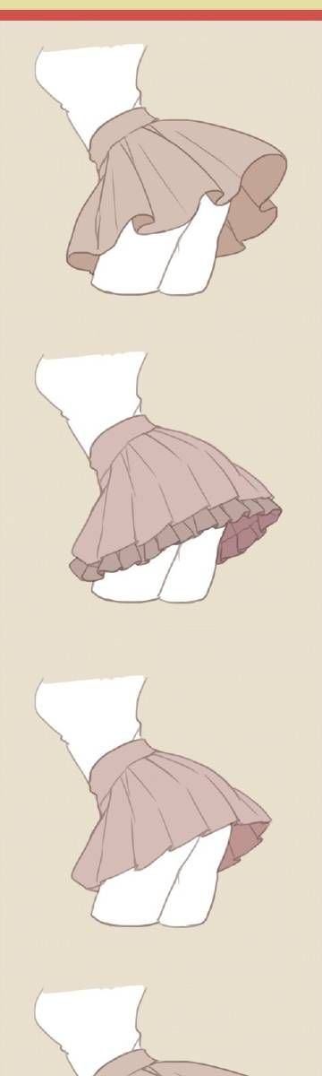 Skirt tutorials / references
