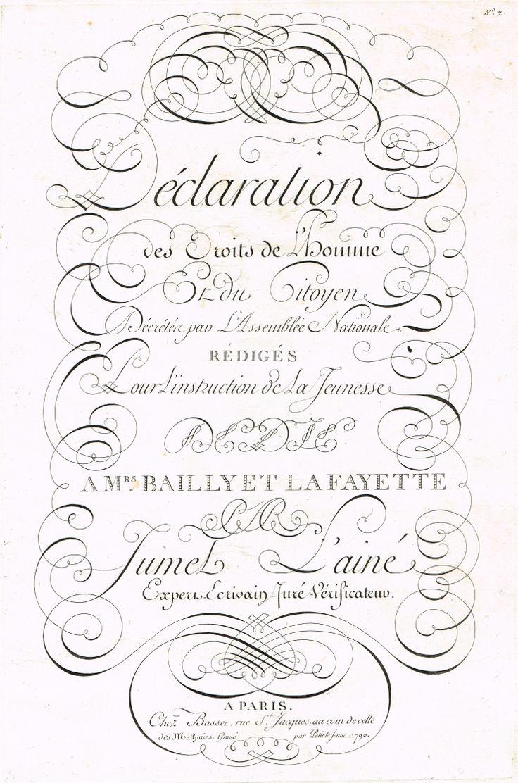 Frontispice dédié à Mrs Bailly et La Fayette MAS Estampes Anciennes - Antique Prints