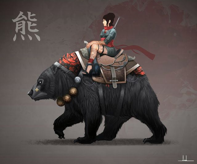 Bear Mount, Joshua Xiong on ArtStation at https://www.artstation.com/artwork/bear-mount