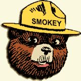 Always loved when Smokey the Bear and Woodsy Owl visited our school. They always brought such cool goody bags!