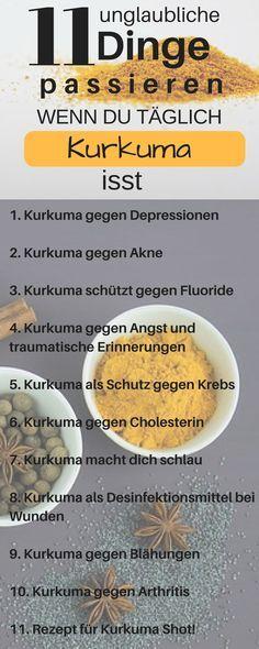 Das Passiert Wenn Du Jeden Morgen Kurkuma Wasser Trinkst Kurkuma