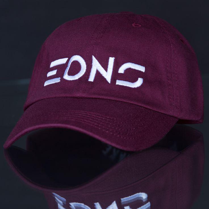 Eons (Cyber) Maroon Adjustable Cap