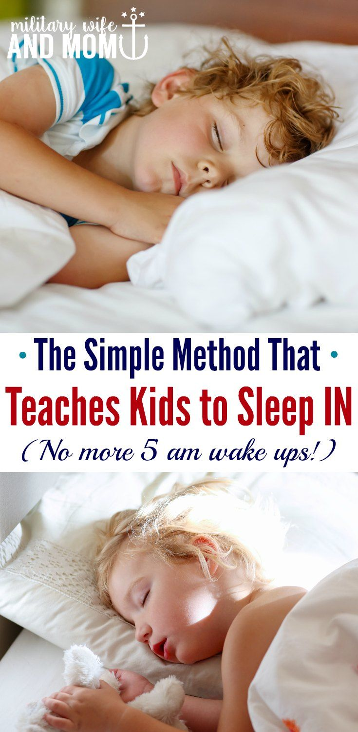 Wish Your Kids Slept Later? This Mom Trick Is Brilliant How Much Sleepparenting