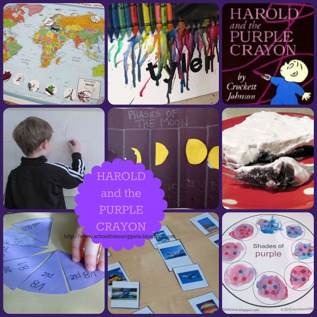 17 Best images about Harold and the Purple Crayon/Purple on ...