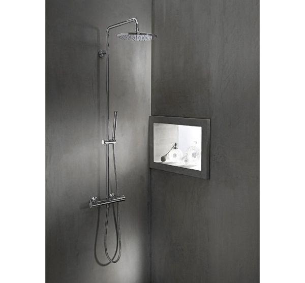 Ein Blick Auf Die Neue Moderne Duschkonsole Dusche Konsole