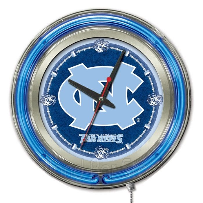Use this Exclusive coupon code: PINFIVE to receive an additional 5% off the University of North Carolina Neon Logo Clock at SportsFansPlus.com