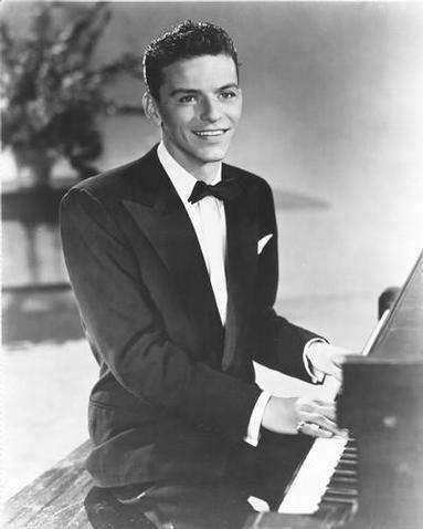 The voice and Chairman of the board, Frank Sinatra.