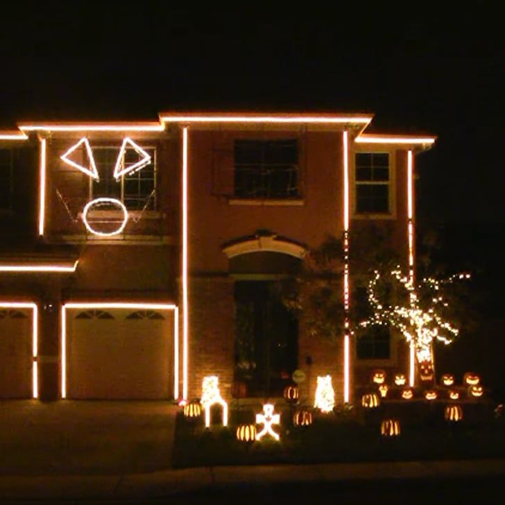 Pin for Later: This Halloween Light Show Is So Insane, You Have to See It to Believe It
