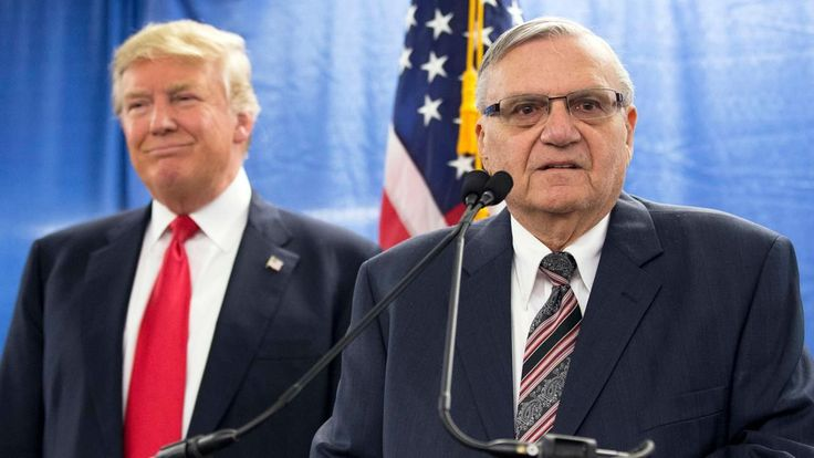 FOX NEWS: Arizona Republicans McCain Franks split on Trump's Arpaio pardon  At least two Arizona congressmen are split on President Trump pardoning former Sheriff Joe Arpaio with Rep. Trent Franks calling the ex-lawman a patriot as other congressional Republicans with some exceptions stay largely silent on the issue.