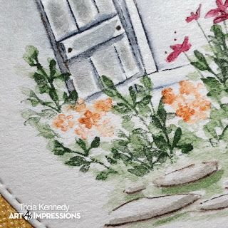 Watercolor Release Week 2! Six More WC Sets! Challenge 217 Watercolor Wonders! | Art Impressions Stamps | Bloglovin'