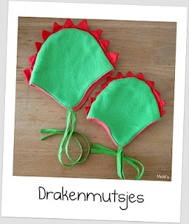 By MiekK Blogt: Project: drakenmuts naaien
