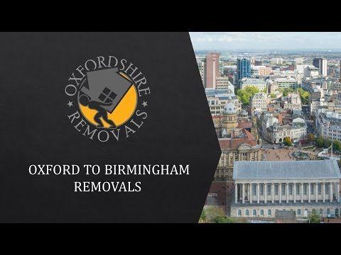 Oxford to Birmingham Removals